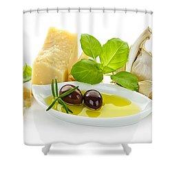 Italian Flavors Shower Curtain by Elena Elisseeva
