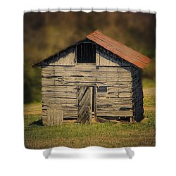 Itsy Bitsy Cabin Shower Curtain by EricaMaxine  Price