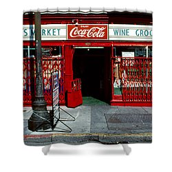 Jack's Market Shower Curtain by David Hohmann