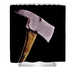 Jack's Phone Shower Curtain by Benjamin Yeager