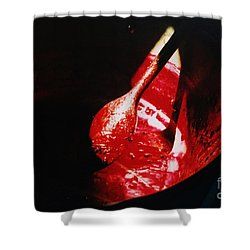 Jamming Shower Curtain by Martin Howard