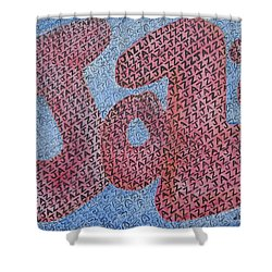 Jazz Shower Curtain by Diane Pape