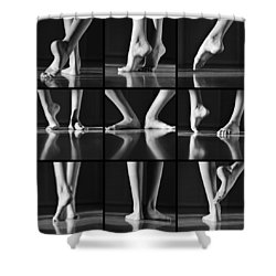 Jazz Melody Shower Curtain by Laura Fasulo