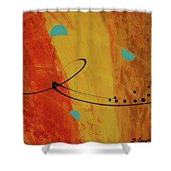 Jealous Bones 3 Shower Curtain by Sharon Cummings