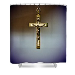 Jesus On The Cross 2 Shower Curtain by Paul Ward