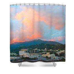Jet Propulsion Laboratory Nasa - Pasadena California Shower Curtain by Ram Vasudev
