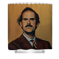 John Cleese Shower Curtain by Paul Meijering