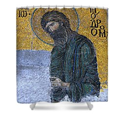 John The Baptist Shower Curtain by Stephen Stookey