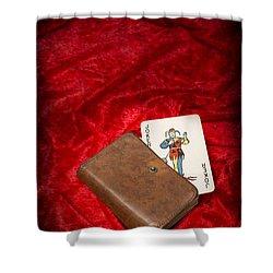 Joker Shower Curtain by Amanda And Christopher Elwell