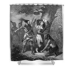 Joseph Brant (1742-1807) Shower Curtain by Granger