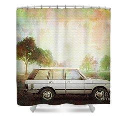 Joys Of Refined Motoring  Shower Curtain by Edmund Nagele