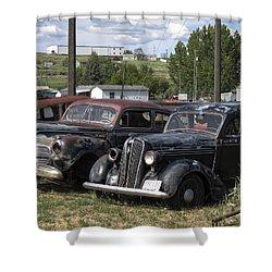 Junk Or Treasure Shower Curtain by Daniel Hagerman