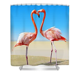 Just We Two Shower Curtain by Kristin Elmquist
