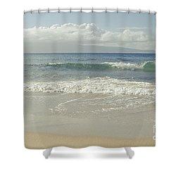 Kapalua - Aia I Laila Ke Aloha - Honokahua - Love Is There - Mau Shower Curtain by Sharon Mau
