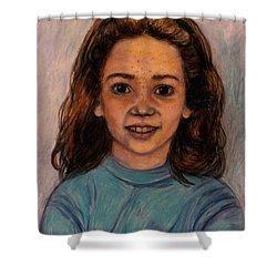 Kathleen Mahin Shower Curtain by Kendall Kessler