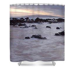 Keawakapu Tropical Nights Shower Curtain by Sharon Mau