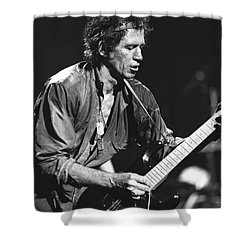 Keith Richards Shower Curtain by Concert Photos
