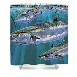 King Of Kings Off0090 Shower Curtain by Carey Chen