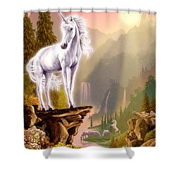 King Of The Valley Shower Curtain by Garry Walton