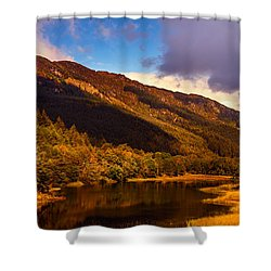 Kingdom Of Nature. Scotland Shower Curtain by Jenny Rainbow