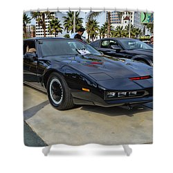 Kitt Shower Curtain by Tommy Anderson