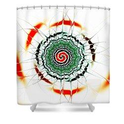 Koi Pond Shower Curtain by Anastasiya Malakhova