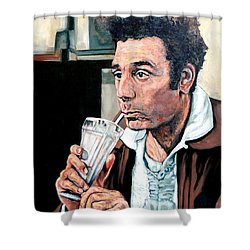 Kramer Shower Curtain by Tom Roderick