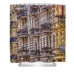 Kreuzberg 1 Shower Curtain by Nathan Wright