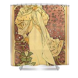 La Dame Shower Curtain by Gary Grayson