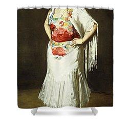 La Reina Mora Shower Curtain by Robert Henri