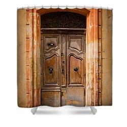 La Vieille Porte Shower Curtain by Inge Johnsson