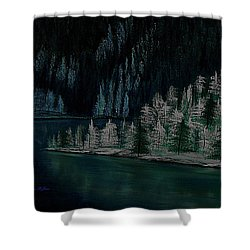 Lake Of The Woods Shower Curtain by Barbara St Jean
