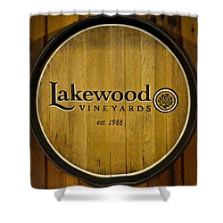 Lakewood Vineyards Shower Curtain by Frozen in Time Fine Art Photography