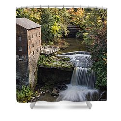 Lantermans Mill Shower Curtain by Dale Kincaid