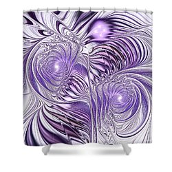 Lavender Elegance Shower Curtain by Anastasiya Malakhova