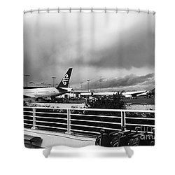 The Smell Of Hawaii Shower Curtain by Fei A