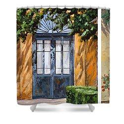 Le 5 Porte Shower Curtain by Guido Borelli