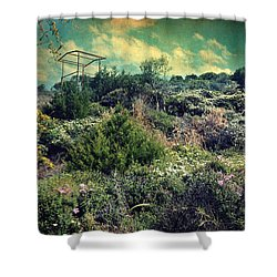 Le Printemps Shower Curtain by Taylan Soyturk