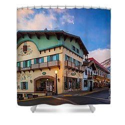 Leavenworth Alps Shower Curtain by Inge Johnsson