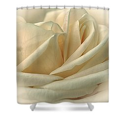Lemon Meringue Shower Curtain by Darlene Kwiatkowski