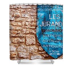 Les Jurandes Bonaguil Shower Curtain by Georgia Fowler