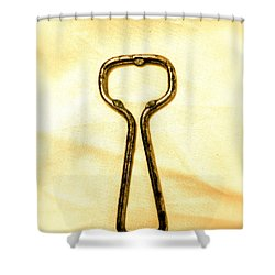 Let's Pop A Top Shower Curtain by Anita Lewis