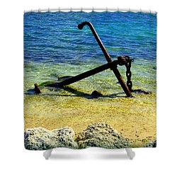 Letting Go Shower Curtain by Karen Wiles