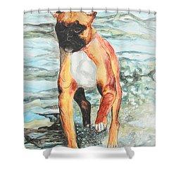 Leyla Shower Curtain by Jeanne Fischer