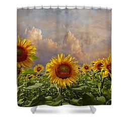 Life Is Good Shower Curtain by Debra and Dave Vanderlaan