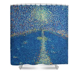 Light Upon The Water Shower Curtain by Stefan Duncan