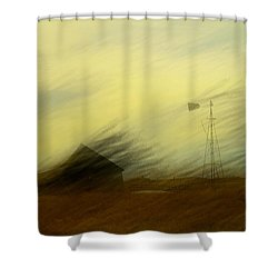 Like A Memory In The Wind Shower Curtain by Jeff Swan