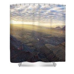 Lipon Point Sunset - Grand Canyon National Park - Arizona Shower Curtain by Brian Harig