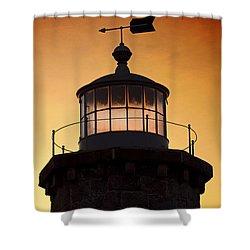 Lit House Shower Curtain by Joe Geraci