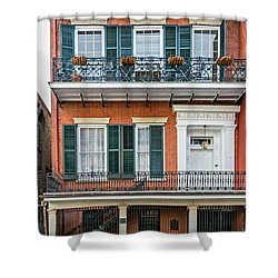 Living High In The French Quarter Shower Curtain by Steve Harrington